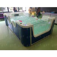 钢化玻璃婴儿游泳设备哪家好?上海嘉定找萌贝湾