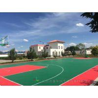 衡阳彩色地坪篮球场铺设工厂 雁峰公园透气型篮球场施工工艺