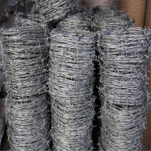 圈地刺钢丝 刺绳复合立柱 青岛刀片刺绳