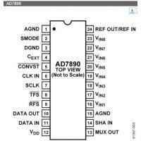 AD7890ANZ-10 16+ DIP 其他IC 12位串行数据采集系统【ADI进口原装】