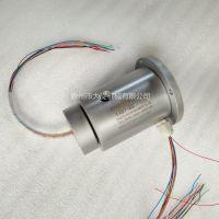 电气液滑环 电线旋转接头信号线旋转接头电缆线旋转接头 YX87-8S