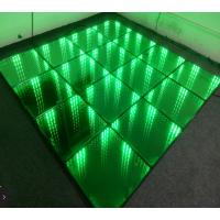 3d深渊镜面跳舞地板砖 钢化玻璃地板砖 跳舞池