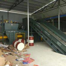 德州瑞一厂家定做各种规格卧式废纸打包机