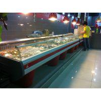 鲜肉冷藏展示柜超市冷柜风冷猪肉泡菜保鲜柜新款正品热销