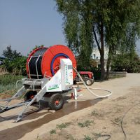 卷盘式喷灌机JP75-300TX小麦农业玉米喷灌视频