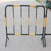 现货1.2*2米铁马围栏@黄黑红白铁马专卖@便于安装的隔离栏