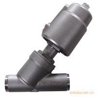 焊接式气动角座阀 不锈钢焊接式角座阀 单双作用角座阀