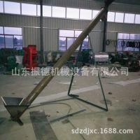 振德直销垂直螺旋提升机 管式绞龙螺旋输送机 多用绞龙提上料机