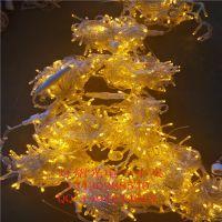 灯熠定制公园装饰 LED灯串 户外防水景观灯 10米100灯串 商场装饰窗帘灯