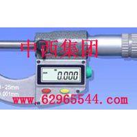 中西便携式螺旋测微仪/千分尺0-25mm 型号:SZ67-M301030库号:M301030