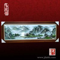 手绘瓷板画名家传统工艺可升值