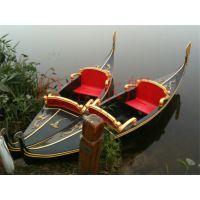 竹泓殿宝木船直销欧式船 贡多拉游船 酒店装饰小木船