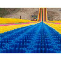 优质量的诺泰克旱雪滑道厂家直销无需水电的彩虹滑道