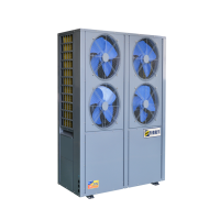 天维宝乐空气能热泵热水器,学校,医院,酒店中央热水设备 超低温机组