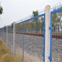 朋英 供应 铁路护栏网 铁路焊接隔离栏 防护栏