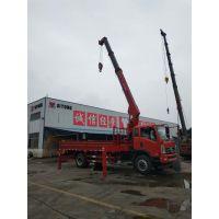 全新设计U型大臂 随车吊转盘安装方向 8吨东风随车吊