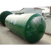 新疆出口玻璃钢化粪池 小型污水处理设备 模压化粪池