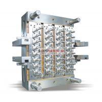 专业塑料模具 PET瓶胚模具一出32腔热流道独立自锁可乐管胚注射成型模具厂家