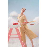 杭州品牌女装魔美名作时尚年轻新款夏装走份批发/品牌折扣女装