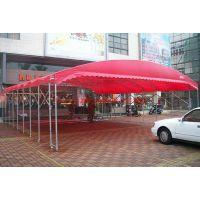 百色展销帐篷活动雨棚加固储物蓬摆摊遮阳棚推拉伸缩蓬钢筋大棚