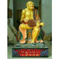 玻璃钢十八罗汉雕塑,向雷雕塑供应各类佛像