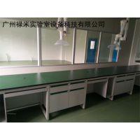 供应钢木仪器台公司 禄米实验室 实心理化板台面