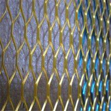 黄铜金属网帘 钢丝绳网 合股网带