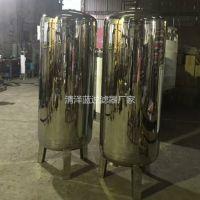 厂家批发九江浔阳区不锈钢机械过滤器 山泉水石英砂拦截泥沙过滤