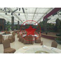 玻璃连栋生态餐厅温室大棚造价—青州瀚洋温室