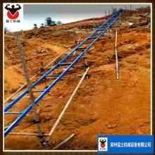 猛士爬山虎上料机 斜坡上料器 物料提升多功能上料机械