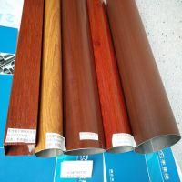 浮雕木纹管厂家丰佳缘可做7.5米长