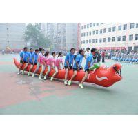 趣味运动会器材 陆地龙舟竞速道具 拓展训练器材 充气游戏道具