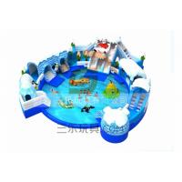 今年新款水上充气滑梯冰雪世界乐园