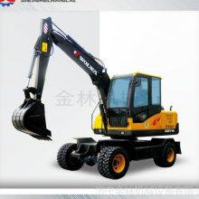 厂家直销小型轮式挖掘机 金林机械工程轮式挖掘机型号齐全