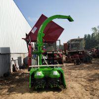 履带式黑麦草粉碎青储机 牧草收割机 玉米秸秆收获机