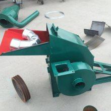 信达专业供应小型饲料粉碎机 花生壳锤片式地瓜秧粉碎机
