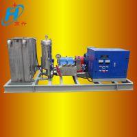 供应宏兴 700公斤超高压化工厂用 凝结器管道高压清洗机
