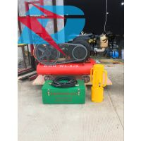 供应气动型小型打桩机防汛专用植桩机