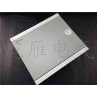 鸿雁家庭多媒体箱 鸿雁信息箱弱电箱光纤接入箱H系列M型白色