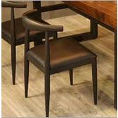 倍斯特简约现代金属椅创意中餐酒店酒楼包房椅厂家定制