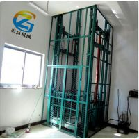 普洱市液压导轨升降机-载重2吨电动货梯报价