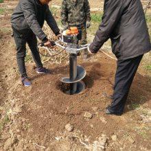 小型轻便6.8马力地砖机【噪音小】单人挖坑机 贵州专卖挖坑机