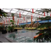 云南红河智能玻璃温室大棚专业安装安全可靠团队建设厂家