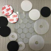 硅胶垫定制 3m自粘硅胶垫片 白色黑色胶垫 耐高温硅胶垫片垫圈