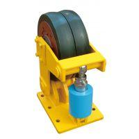 矿用滚轮罐耳L/LS35 单/双轮矿山提升罐笼用滚轮厂家生产销售