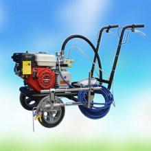 手推式多功能汽油划线机 手推式冷喷划线机 启航小区道路冷喷标线机