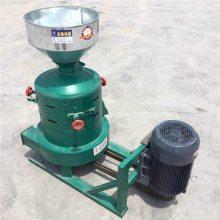 谷子碾米机 立式粮食脱皮机 小型玉米制糁机 圣鲁机械