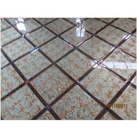 客厅现代简约电视背景墙瓷砖艺术拼镜玻璃电视墙造型菱形边框装饰
