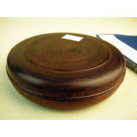 供应小叶紫檀木雕件工艺品 木檀世家器皿首饰盒印泥盒文房用具B88