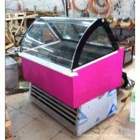 商用冰淇淋展示柜厂家进口压缩机水果DIY冰棍展示柜